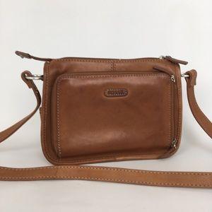 Fossil Leather Shoulder Bag/Crossbody Bag